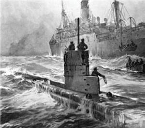 U-båd.