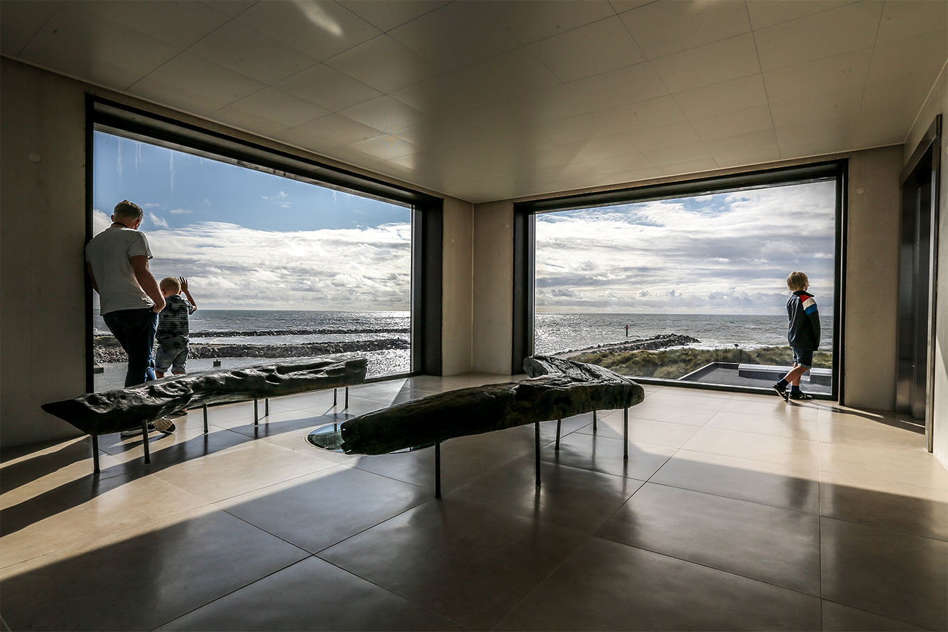 """Tur til Strandingsmuseet og Jegindø """"Æ Fyverhus"""""""